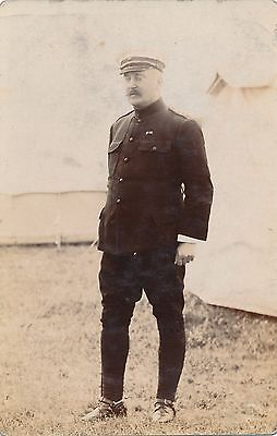 POSTCARD   MILITARY    Col    Freeman  Willis   circa  1908