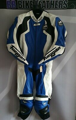 Furygan FRS Prime One Piece Motorcycle Leathers Race Suit - EU 58 / UK 48 Blue