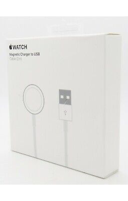 Apple Watch Magnetic Charger to USB Cable 2m for Series 1 2 3 4 5 6 SE MU9H2AM/A