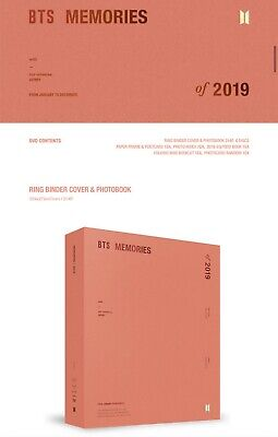 [Pre-Order] BTS Official Memories Of 2019 DVD Set (Read Description)