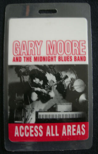 GARY MOORE ACCESS ALL ACCESS BACKSTAGE PASS 1992 AFTER HOURS