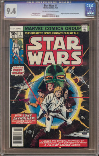 Star Wars #1 CGC 9.4 ow/wp