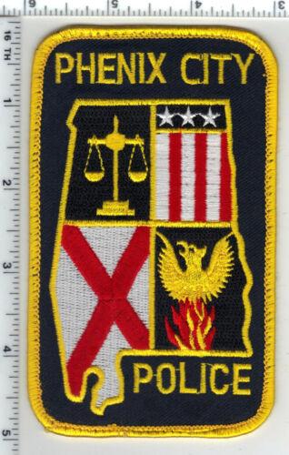 Phenix City Police (Alabama) Uniform Take-Off Shoulder Patch from the 1980