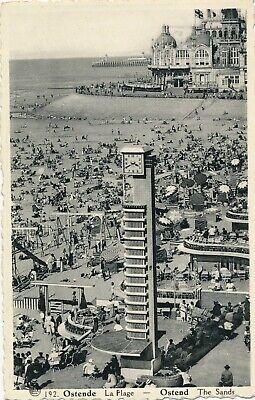 CPA - Belgique - Oostende - Ostende - La Plage