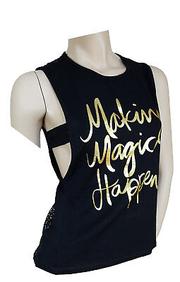 "Netz T-Shirt ""Making Magic Happen"" - Tshirt Zaubertrick Top Netzshirt"