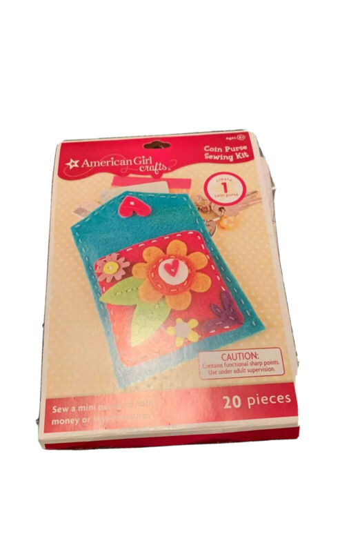 American Girl Crafts coin purse sewing kit NEW