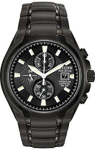 **NWOT** Citizen Men's CA0265-59E Eco-Drive Titanium Watch