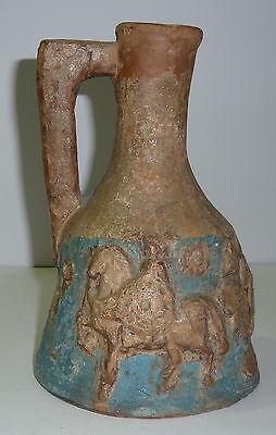 Antike römische Krieger Keramik Vase Guerrino Bardeggia *1937 Urbino Italien ()