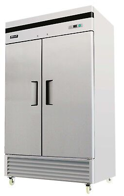 Migali C-2f-35 Commercial Two Door Freezer Reach In 35 Cu.ft