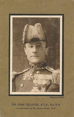 POSTCARD  MILITARY  Sir  John  Jellicoe
