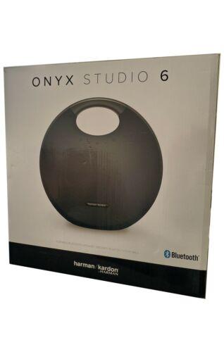Harman Kardon Onyx Studio 6 Wireless IPX7 Waterproof Bluetooth Speaker Black New