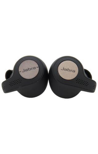 Jabra Elite Active 65t Wireless Bluetooth Headset Sports Earbuds Titanium Black