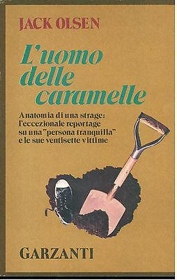 OLSEN JACK L'UOMO DELLE CARAMELLE GARZANTI 1976 I° EDIZ. MEMORIE DOCUMENTI