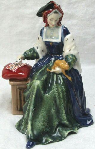 ROYAL DOULTON Catherine of Aragon figurine LIMITED EDITION HN3457 Free USA Ship!