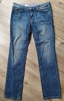 Gap 1969 Women's Blue Jeans Real Straight L 30/32 W (UK 10)