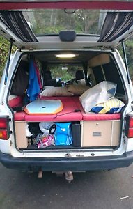 Campervan Toyota Town with full equipment and new rego Cairns Cairns City Preview