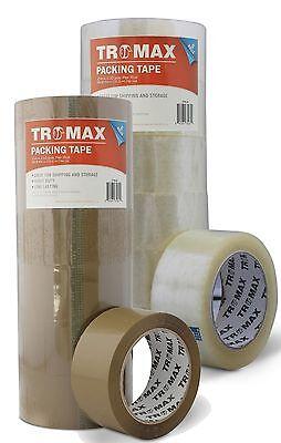 36 Rolls 2 X 110yds Cleartan - Shipping Packing Carton Sealing Tape - Bopp