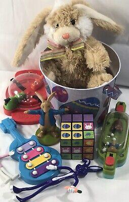 Easter Toy Basket Fillers Lot Toys Plush Figures](Spongebob Easter Basket)