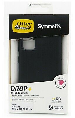 Otterbox Symmetry Series Case for the Samsung Galaxy S20 FE 5G - Black - New