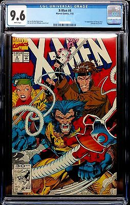 X-MEN (1991) # 4 WHITE PAGES CGC 9.6 NM+ = 1ST OMEGA RED APPEARANCE