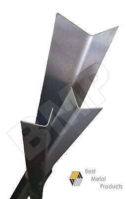 Stainless Steel Corner Guard Angle Kitchen Nursing 1.5x1.5x48 20ga 304 0600115
