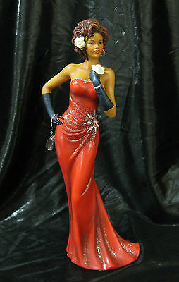 NIB Billie Holiday look African American Woman Figurine Ebony Legacies & Legends