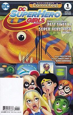 DC SUPER HERO GIRLS - Halloween Comicfest - 2017 - Back Issue (S)](Halloween Cartoons 2017)