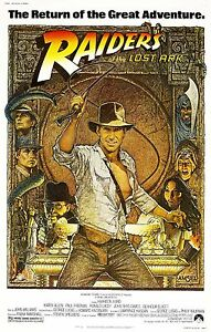 RAIDERS-OF-THE-LOST-ARK-Movie-Poster-INDIANA-JONES-Temple-of-Doom-Harrison-Ford
