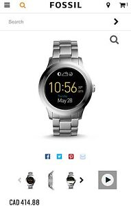 Fossil Q Founder Smart Watch 47mm
