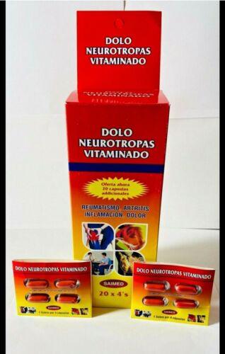Dolo Neurotropas Vitaminado 100 TABLETS 25x 4 packs FOR JOINT PAIN INFLAMMATION