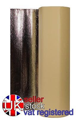 Self Adhesive Thermal Bubble Insulation Camper Caravan Radiant Foil All Sizes