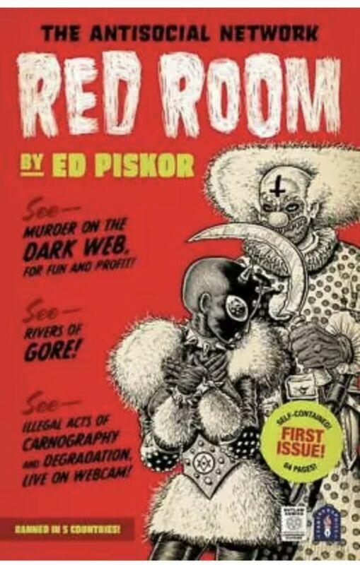 RED ROOM 1 2021 Piskor Main Cover 1st Print FANTAGRAPHICS BOOKS 5/19 Pre-Order