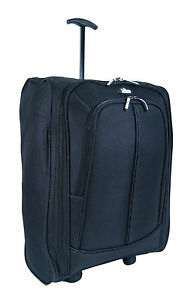 NEW LIGHT WEIGHT ON-BOARD CABIN WHEELED HAND LUGGAGE HOLDALL TRAVEL SUITCASE BAG