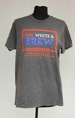 Red, White & Brew The Mall At Fairfield Commons T-Shirt, (The Fairfield Mall)