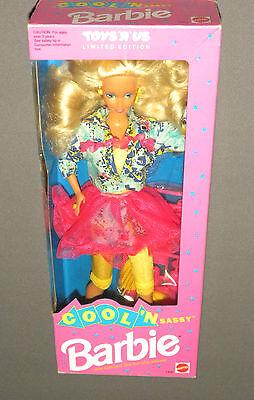 Vintage 1992 Cool 'n Sassy Barbie Doll Limited Edition Mattel Sealed