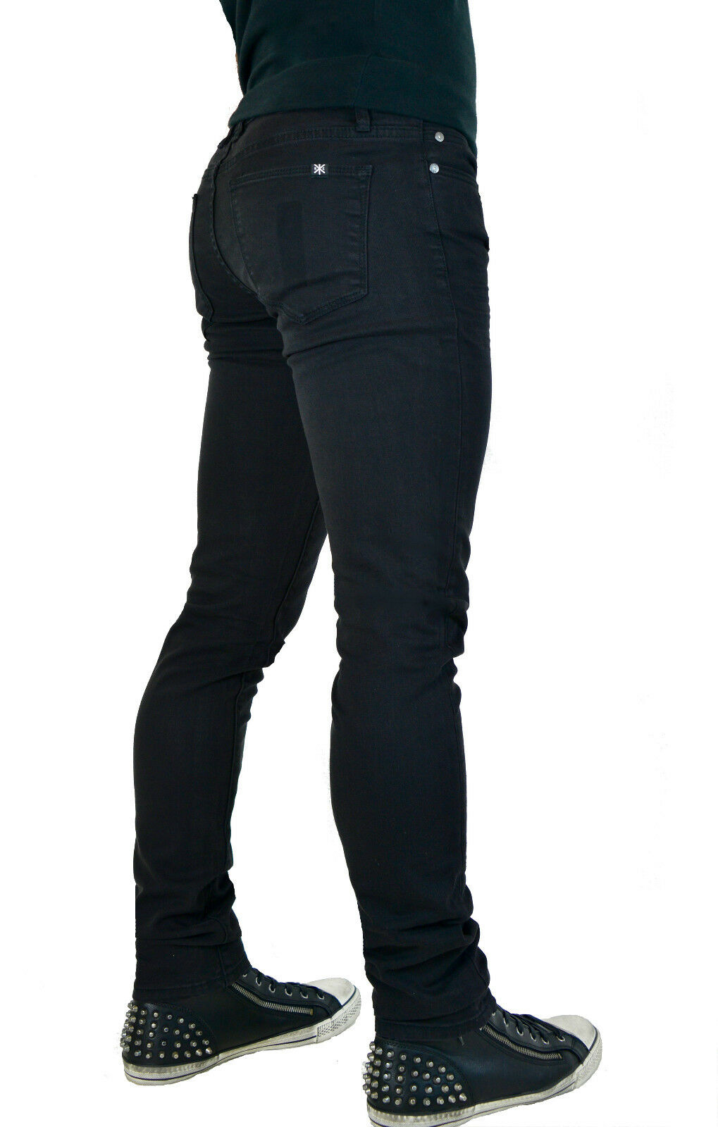 KILL CITY LIP SERVICE GOTHIC PUNK ROCKER JUNKIE SKINNY NEEDLE STAGE JEANS PANTS Clothing, Shoes & Accessories