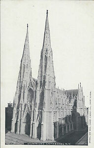 VINTAGE UNUSED POSTCARD / #140 ST. PATRICK'S CATHEDRAL, NY