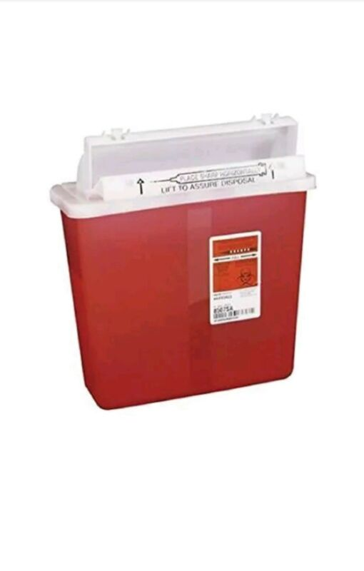 Covidien COV-8507SA SharpSafety Safety In Room Sharps Container Counterbalance L