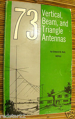 73 Vertical, Beam and Triangle Antennas on CD in Easy .pdf Format