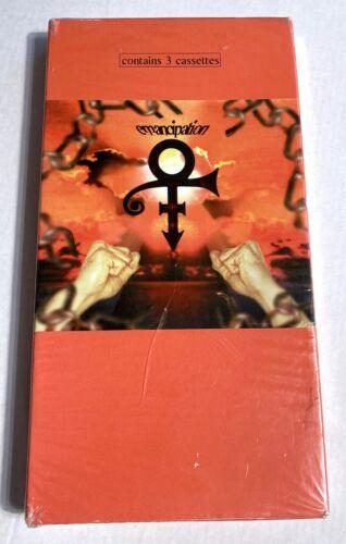 CASSETTE Sealed 3-TAPE SET: PRINCE Emancipation 1996 NPG E4-55076 Longbox READ