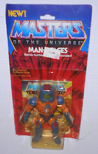 1983 Man-E-Faces MOC in Protective Clamshell Case MOTU Carded Vintage