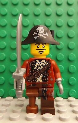 LEGO Brand New Pirate Mini Figure Peg Leg & Sword Weapon  Make Pirate Peg Leg