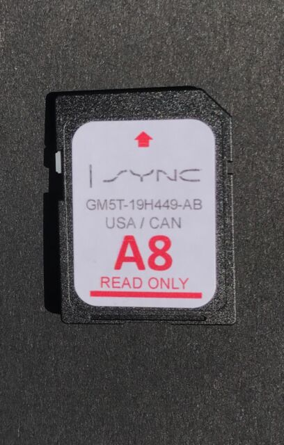 a8 ford lincoln us canada sync navigation sd card 2018 map update