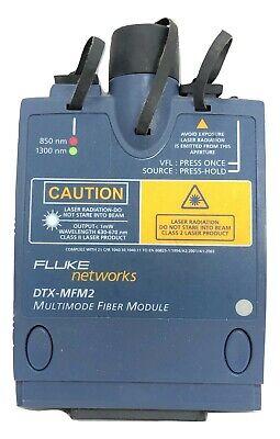Fluke Networks Dtx-mfm2 Multimode Fiber Module Single Tested Calibrated