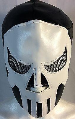 Punisher Mask (PUNISHER WRESTLING-LUCHADOR MASK!!AWESOME!! GREAT, UNIQUE DESIGN!! )