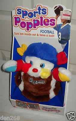 #4360 NRFB Vintage Mattel Sports Popple Football Plush