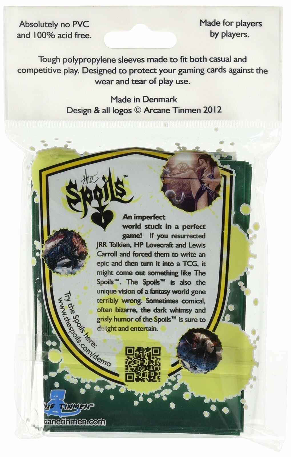 Dragon Shield Protective Card Sleeves 50 Count Clear Face with Green Back