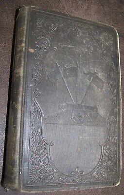 1857 NAVAL BATTLES UNITED STATES NAVY USN REVOLUTIONARY WAR PIRATE+ ANTIQUE BOOK