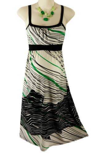 Size Small SEXY Women ABSTRACT SUMMER MATERNITY SUNDRESS Baby Shower Liz Lange