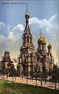 Karlsbad Karlovy Vary Tschechien Česká Böhmen ~1910 St. Peter Russische Kirche